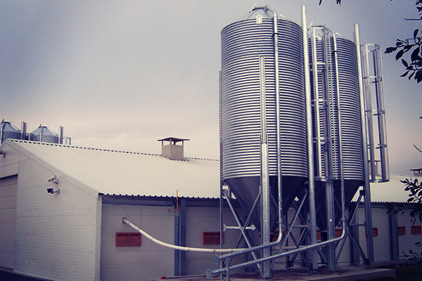 Silo granja avícola, Argentina